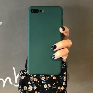 Accessories - Frosted Matte Green iPhone 7 Case